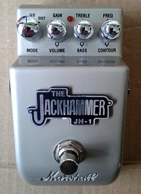 Pédale distorsion Marshall Jackhammer JH1