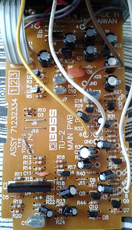 Space Echo JFET Input Mod : Billy Zoom's Jet Set : The